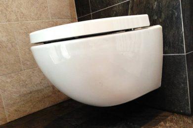Douche, bad en toilet