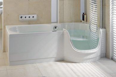 Het bad als douche