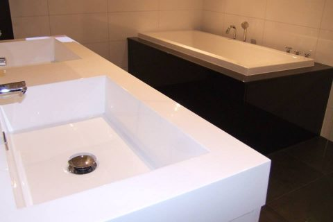 Badkamer Zwart/Wit