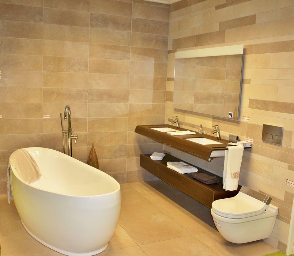 Badkamer Beige – Tegels-Sanitair
